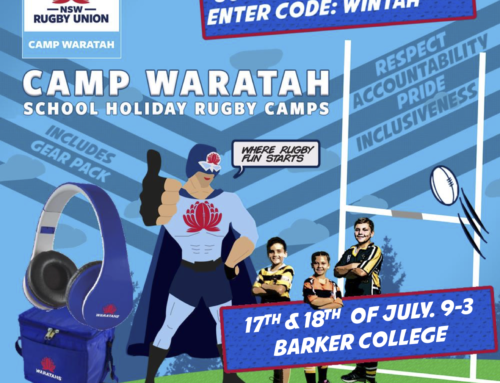 Camp Waratah Back at Barker