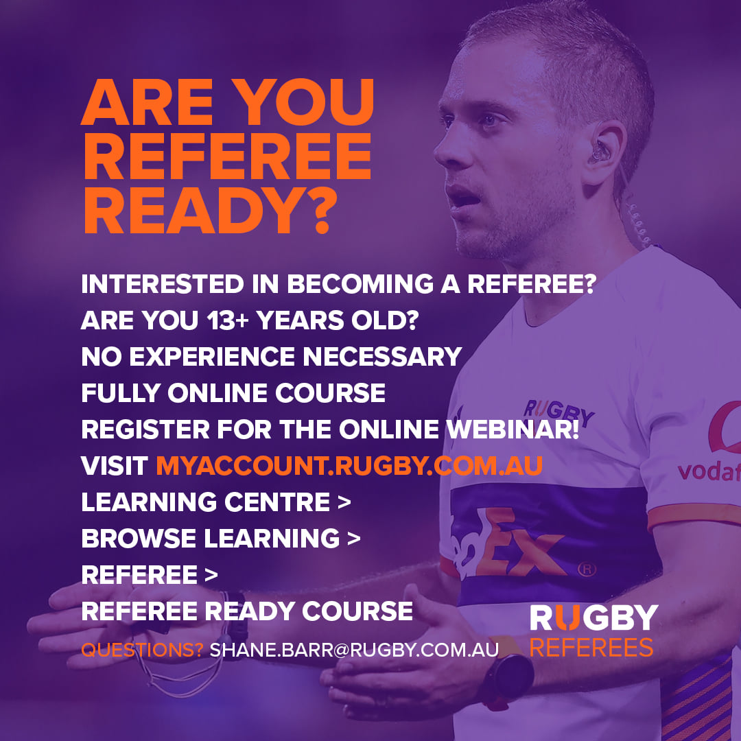 Are you 13 years or over? Are you looking to do a referee course?...