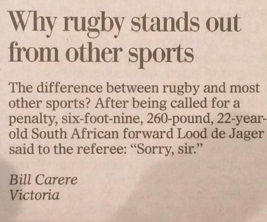 #Truth #LoveRugby