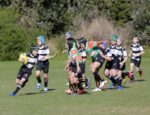 Action from the U10s game against Penrith…