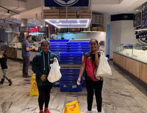 Janaya and Jaydah from our U12 girls giving mum the night off. Girls loved seein…