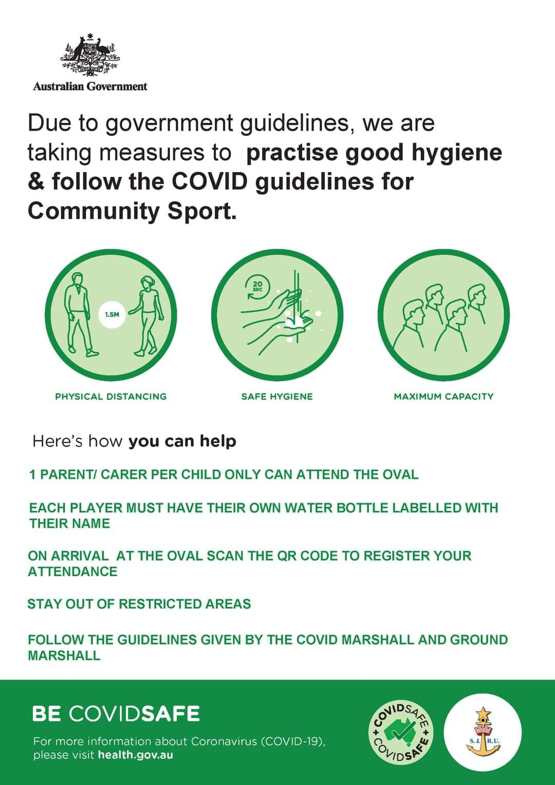 Please remember to follow all COVID-19 hygiene measures at your rugby games this...