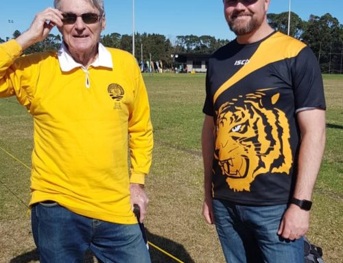 TIGERS PRESIDENTS PAST & PRESENT  We had the privilege of having Bill Tunbri…