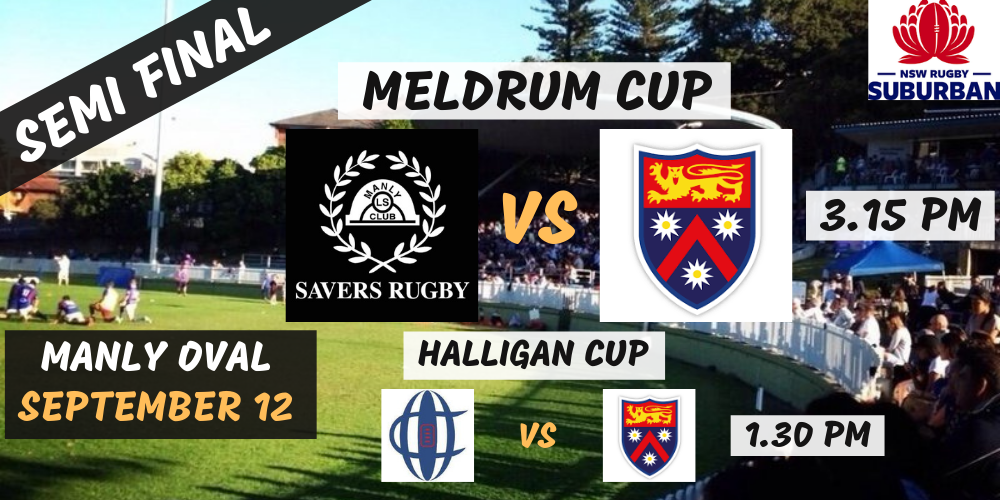 NSW Suburban Rugby - Manly Savers vs Wakehurst / Colleagues vs Wakehurst, Manly, 12th of September   Humanitix