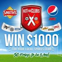 "Image may contain: text that says ""The Originel SMITHS the Best KITFOR CLUBS Dorites MAX frantellie NOBBY'S Schweppes SOLO WIN $1000 FOR YOUR LOCAL SPORTS CLUB 50 Prizgs to be Won!"""