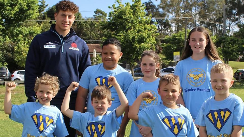 Wakehurst Rugby Club's Special Man of Steel & Wonder Woman Awards...