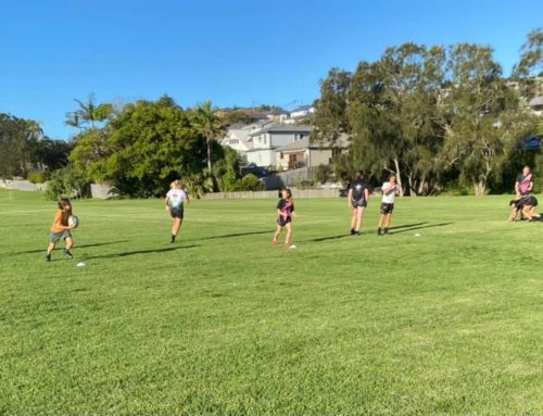 Our players are liking these Spring 7s mixed training sessions
