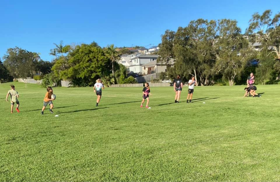 Our players are liking these Spring7s mixed training sessions ....