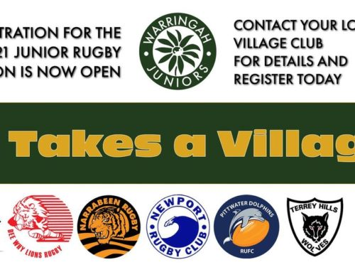 Registration for the 2021 Junior Rugby Season
