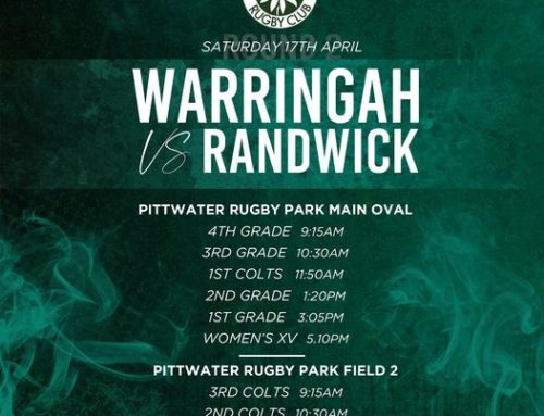 Warringah v Randwick 17 April 2021 – Ou