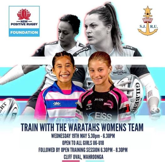 Opportunity for all our girls to train w